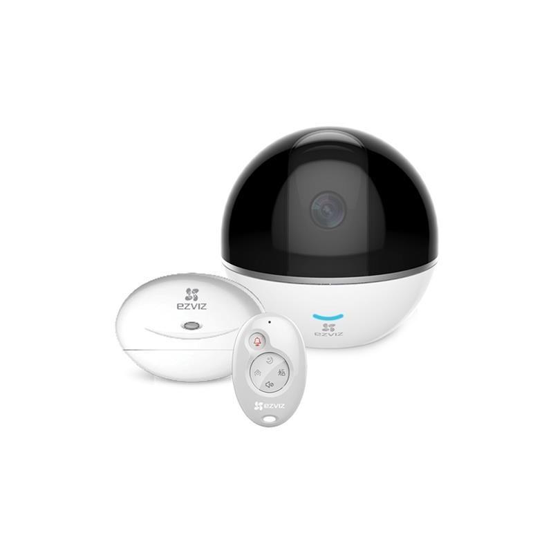 EZVIZ C6T RF Edition - Telecamera + Contatto T2 + Telecomando K2