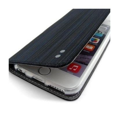 Custodia Stripy per iPhone 6S - Nera
