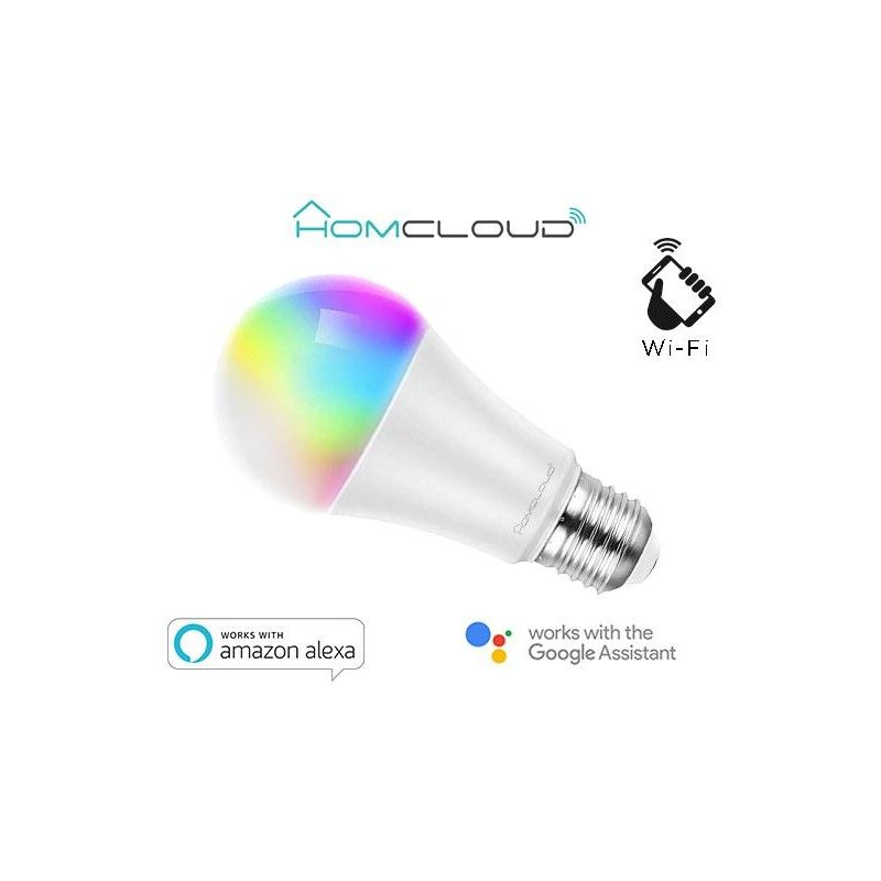 Lampadina Wi-FI RGB + CCT Dimmerabile E27