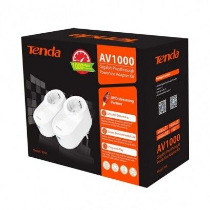 Tenda PH6 Gigabit AV1000 Powerline Kit Adattatori