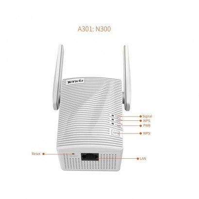 Tenda A301 Range Extender Wireless 300Mbps