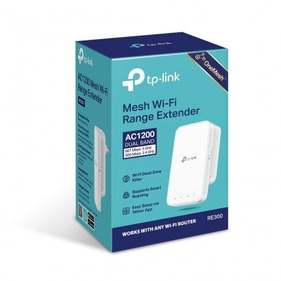 TP-Link TL-RE300 Range Extender Wireless AC1200 OneMesh
