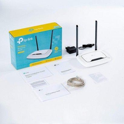TP-Link TL-WR841N Router Wi-Fi 300Mbps 5dBi 5 porte 10/100M