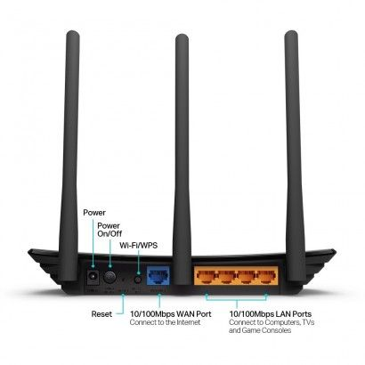 TP-Link TL-WR940N Router Wifi 450Mbps