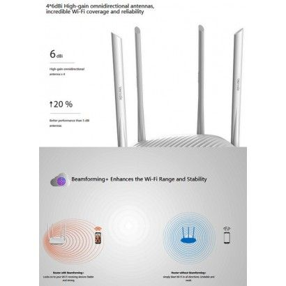 Tenda F9 Router Wi-Fi 600Mbps