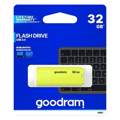 Pendrive GoodRAM 32GB UME2 Yellow