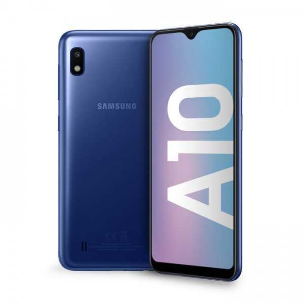 Samsung Galaxy A10 Blue - WindTre