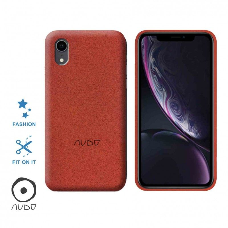 Gel Cover Sand (Rosso) per IPHONE XR
