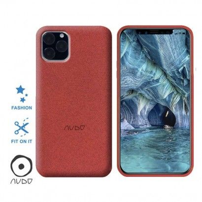 Gel Cover/Sand IPHONE 11 PRO MAX (6.5) ROSSO