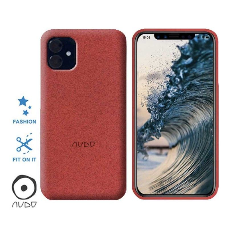 Gel Cover Sand (Rosso) per IPHONE 11 (6.1)