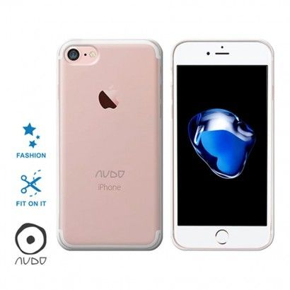 Gel Cover/Basic - eco pack IPHONE 7/8 TRASPARENTE