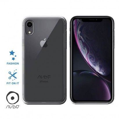 Gel Cover/Basic - eco pack IPHONE XR TRASPARENTE