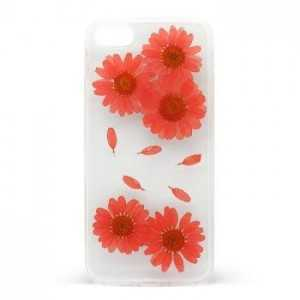 Cover Flower per iPhone 7/8 Rosso