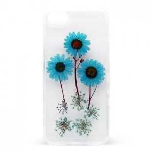 Cover Flower per iPhone 7 / 8 / SE 2020 Blu