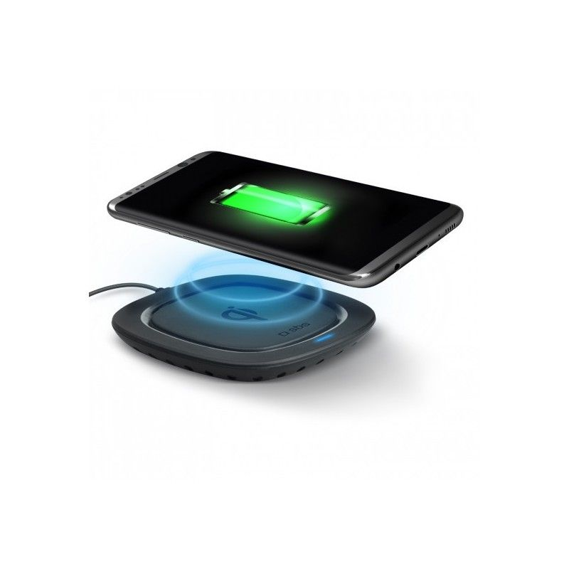 SBS Basetta ricarica wireless - Nero