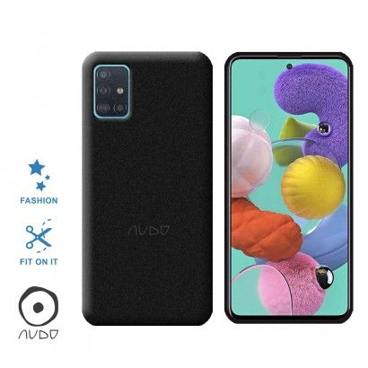 Gel Cover Sand (Nero) per GALAXY A51