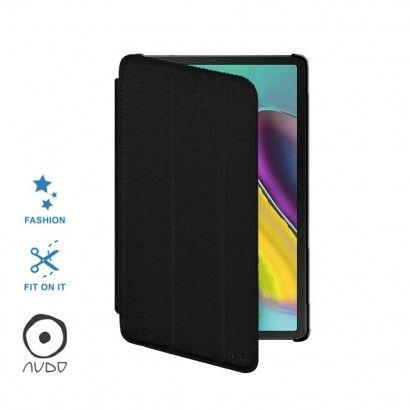 Book Case Fiber Stand (Nero) per GALAXY TAB S5E 10.5 (T720)
