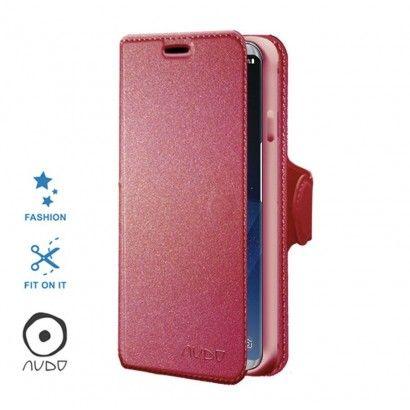 Book Case Essential (Fucsia) per GALAXY S8