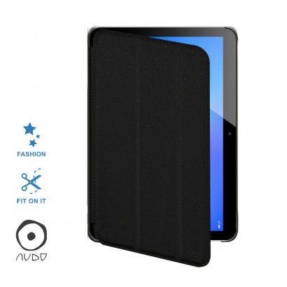Book Case Fiber Stand (Nero) per MEDIAPAD T3 10.0