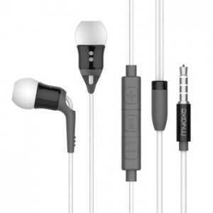 MYAXE Stereo Headset Pop Jack 3.50 Bianco