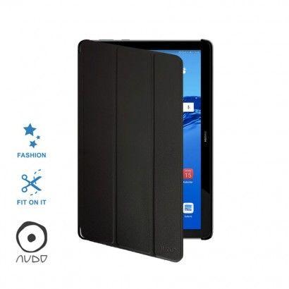 Book Case Fiber Stand (Nero) per MEDIAPAD T5 10.1