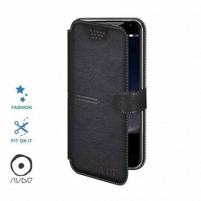 Book Case All-Around Elegance (Nero) per SMARTPHONE FINO A 5.5''