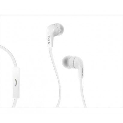 SBS Auricolare stereo con cavo - Bianco