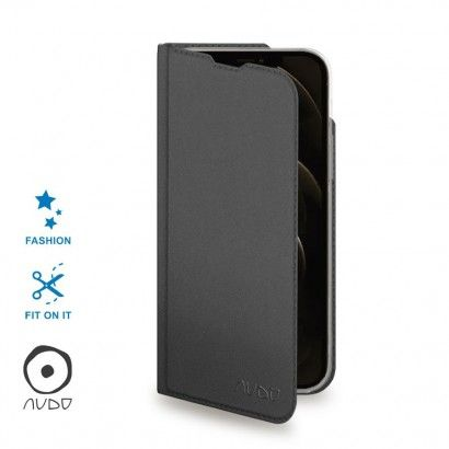 Book Case Eclipse (Nero) per IPHONE 12 PRO (6.1)