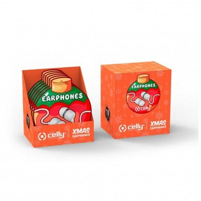 Wired Earphone Xmas Ball Shape