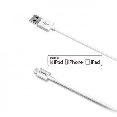 USB Lightning Cable 2M White MFI