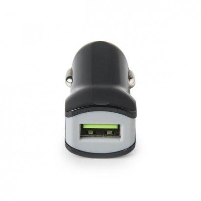 Turbo Car Charger 1USB 2.4A Black