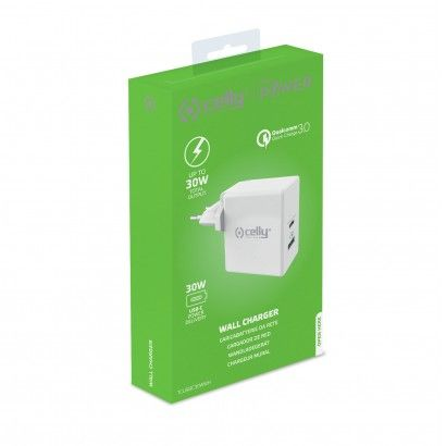 Travel Charger USB-C Power Delivery 30W White