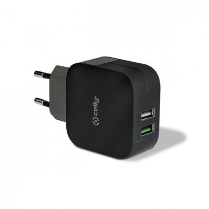 Travel Charger Turbo 2 USB 3.4 A Black