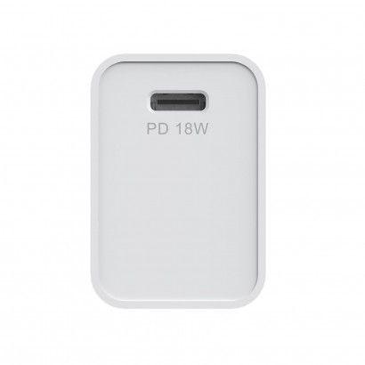 TC 1 USB-C 18W + Light Cable White