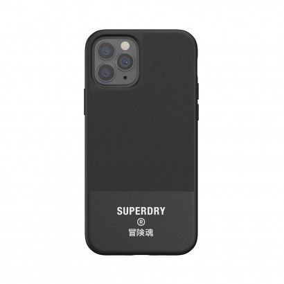 Superdry Canvas iPhone 12/12 Pro Black