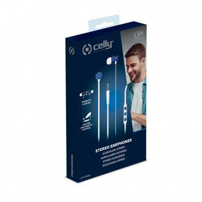 Stereo Earphones 3.5 mm Blue