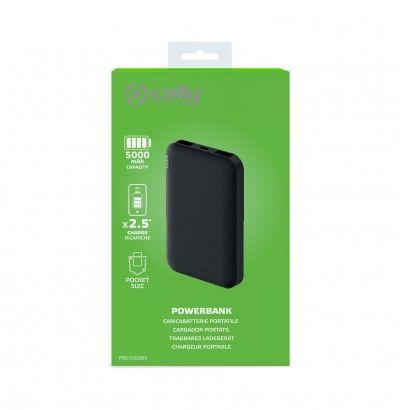 Powerbank Energy 5000Mah Black