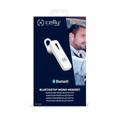 Bluetooth Headset Bh10 White