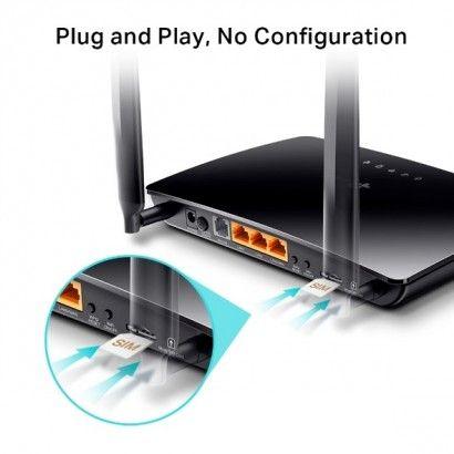 TP-Link TL-MR6500v Router WiFi N300 4G