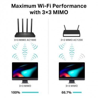 TP-Link Archer C80 Router WiFi Dual Band AC1900 5 porte Gbit