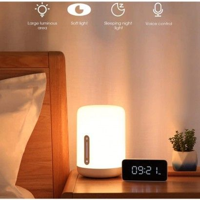 Xiaomi Mi Led Bedside Lamp2 - Lampada da tavolo Intelligente