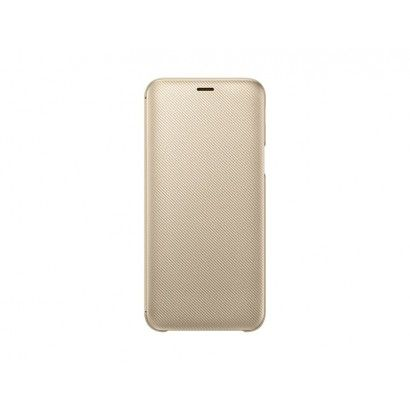 SAMSUNG Wallet Cover per Galaxy J6 Oro