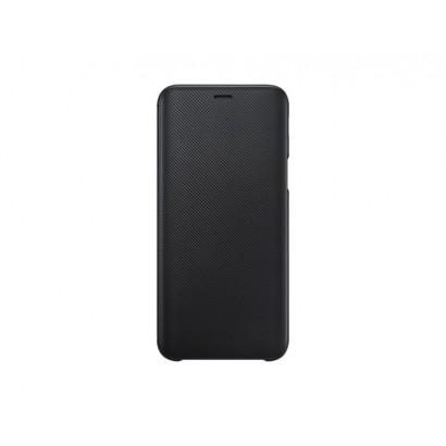 SAMSUNG Wallet Cover per Galaxy J6 Nera