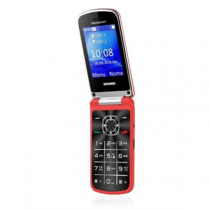 BRONDI Feature phone President (Rosso) - PRESIDENT
