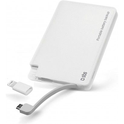SBS Powerbank 3000mAh White