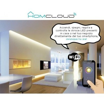 Striscia LED RGB + Bianco caldo wi-fi Kit dimmerabile 5m