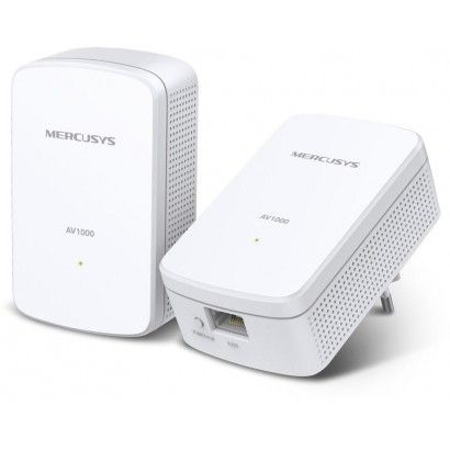 Powerline Mercusys Homeplug AV2 fino a 1000Mbps - MP500KIT