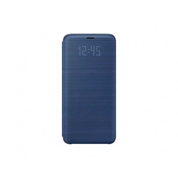 SAMSUNG Led View Cover per Galaxy S9 Blue