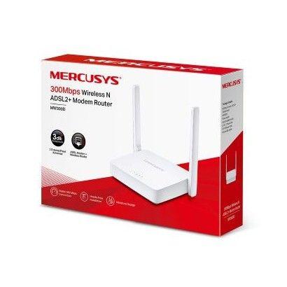Modem Router Wifi N300 ADSL 2+ Mercusys MW300D
