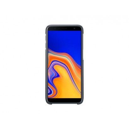 SAMSUNG Gradation Cover per Galaxy J6 Plus Nero